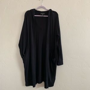 Forever 21 Long Duster Cardigan with Hood